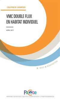 VMC double flux en habitat individuel
