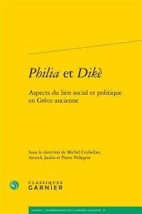 Philia et dikè