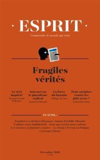 Esprit. n° 450, Fragiles vérités