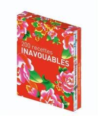 200 recettes inavouables