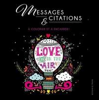 Messages et citations