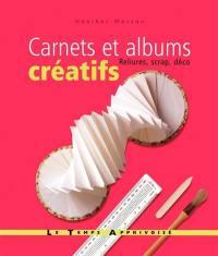 Carnets et albums créatifs