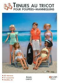 44 tenues au tricot pour poupées-mannequins