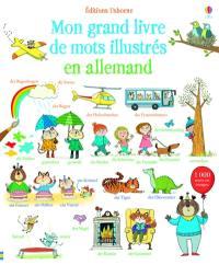 Mon grand livre de mots illustrés en allemand