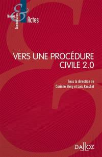 Vers une procédure civile 2.0