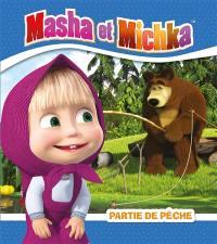Masha et Michka, Partie de pêche