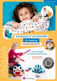Doudous et accessoires en couture pour enfants