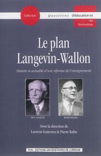 Le plan Langevin-Wallon