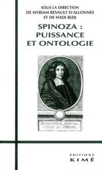 Spinoza : puissance et ontologie