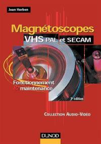 Magnétoscopes VHS, PAL et SECAM