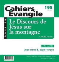 Cahiers Evangile. n° 195, Le discours de Jésus sur la montagne