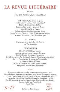 Revue littéraire (La). n° 77,