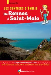 Les sentiers d'Emilie de Rennes à Saint-Malo