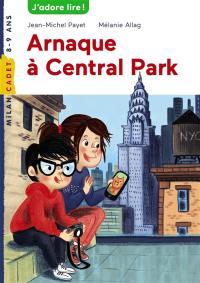 Les enquêtes de Scarlett et Watson. Volume 206, Arnaque à Central Park