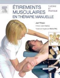 Etirements musculaires en thérapie manuelle