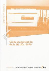 Guide d'application de la EN ISO 13849