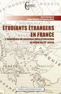 Etudiants étrangers en France