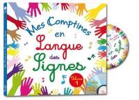 Mes comptines en langue des signes. Volume 1,