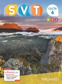 SVT, sciences de la vie et de la terre, 5e, 4e, 3e, cycle 4