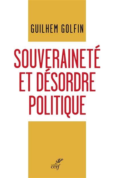 Souveraineté et désordre politique