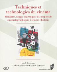 Techniques et technologies du cinéma