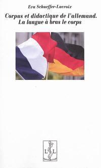Corpus et didactique de l'allemand