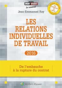Les relations individuelles de travail