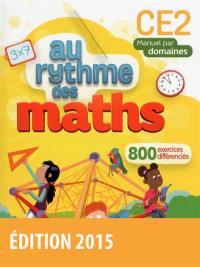 Maths CE2 : manuel par domaines