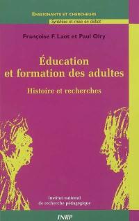 Education et formation des adultes : histoire et recherches
