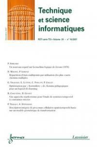 Technique et science informatiques. n° 10 (2007),