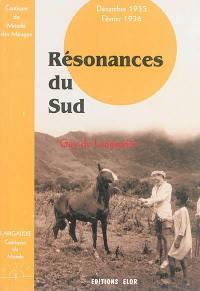 Cantiques du monde. Volume 5, Résonances du Sud