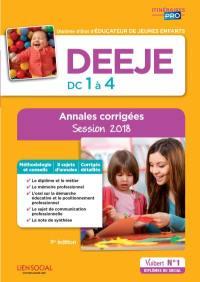 DEEJE, DC 1 à 4