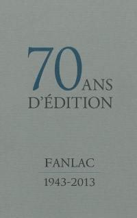 70 ans d'édition