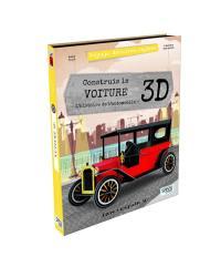 Voyage, découvre, explore, Construis la voiture 3D