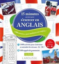 15 minutes par jour pour s'exercer en anglais
