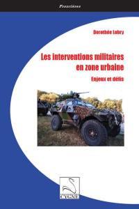 Les interventions militaires en zone urbaine