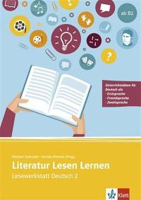 Literatur Lesen lernen