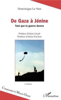 De Gaza à Jénine