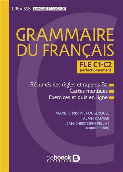 Grammaire du français FLE, C1-C2 perfectionnement