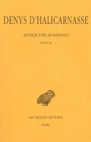 Antiquités romaines. Volume 3,