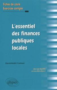L'essentiel des finances publiques locales
