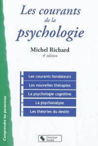 Les courants de la psychologie