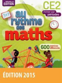 Maths CE2 : fichier par périodes