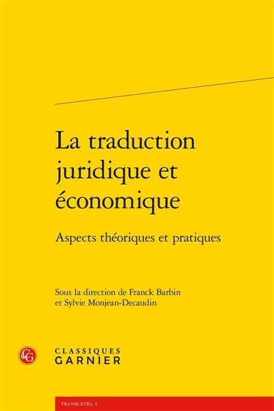 La traduction juridique et économique