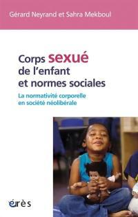 Corps sexué de l'enfant et normes sociales