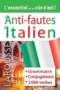 L'anti-fautes d'italien