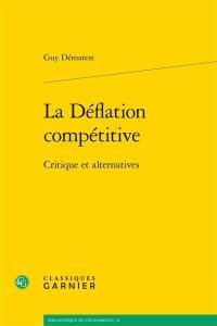 La déflation compétitive