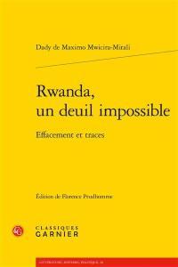 Rwanda, un deuil impossible