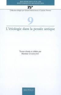 L'étiologie dans la pensée antique
