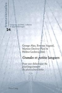 Grandes et petites langues